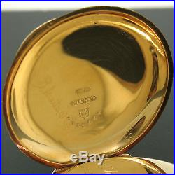100% Working Elgin Grade 101 6s 11j Pocket Watch 14K Gold Engraved Dueber Case