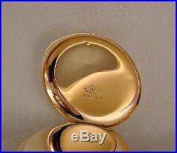 126 YEARS OLD COLUMBUS 16j 14k GOLD FILLED HUNTER CASE BOX HINGE 16sPOCKET WATCH