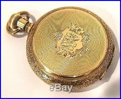 14K 14s 46g of SOLID Gold Waltham Hunter watch Case PRICED BELOW GOLD VALUE