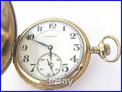 burlington pocket watch serial number lookup