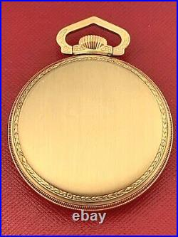 16 Size 10k Yellow Rolled Gold Plate Never Used Vintage Pocket Watch Case