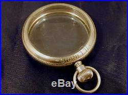 16s Illinois Salesman's Display Pocket Watch Case