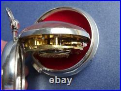 1817 Rare Masonic Silver Pair Case Verge Pocket Watch Crofswell London Antique
