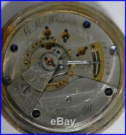 1887 Illinois Watch Co'G. M. Wheeler' 15J 18S Hunter Case 103 Grade