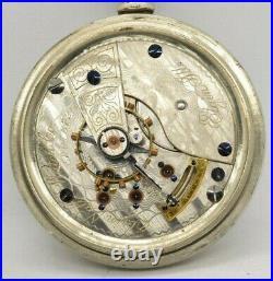 1895 Elgin Model 5 18s 17j Pocketwatch Moseley Regulator Fahys Case Needs Work
