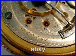 18SZ Elgin BW Raymond Pocket Watch in GF Case-15Jewel, Serviced, Keeps Time