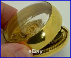 18k gold plated Verge Fusee Demonstrator case George Prior watch. Ottoman c1780