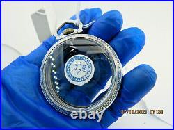 18s Keystone display style antique pocket watch case