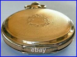 1906 Hamilton Grade 990 Pocket Watch 21j Ruby, 16s Hamilton GF 3 Hinged Case