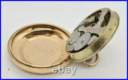 1912 E. Howard Series 11 Railroad Grade 16s 21j Pocketwatch J Boss Case Runs