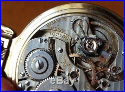 1913 Hamilton 950 Pocket Watch, 23 Jewels. Keystone Jboss 10k Gold-filled Case