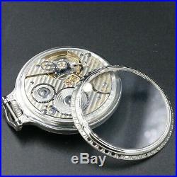 1926 Hamilton 21 Jewel RAILROAD Grade 992 Pocket Watch 16s Bar Over Crown Case