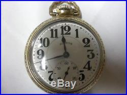 1927 21j 60hr BUNN SPECIAL ORIGINAL 14k GOLD FILLED CASE FREE SHIPPING