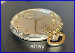 1941/42 TIFFANY & CO. 10s, 17j, 3 Adj. In 14k Solid Gold Hamilton Case