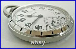 1953 Hamilton Railroad Grade 992B Pocket Watch 21j, 16s OF case Montgomery dial