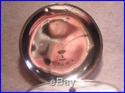 1st Year Prod. Illinois Key Wind Hoyt Model 4 Hinged Coin Silver Hunting Case