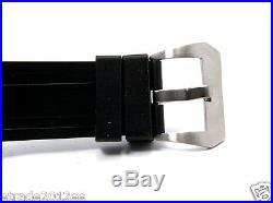 430b Parnis Military 44mm Sterile Orange Sandwich Dial Brushed Steel Matt Case