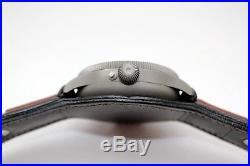 48 mm SEIKOSHA WW2 Military Pocket Watch in New Steel Case Pilot Type 100