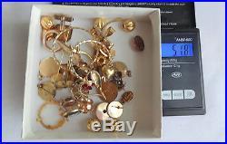 617 GRAMS Pocket Watch Cases 10k 12k 14k Gold Filled-Scrap/Refine Recovery Gold