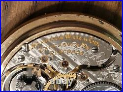 ANTIQUE 1907 HAMILTON 992 21 JEWELS RAILROAD POCKET WATCH 10K Gold Filled Case