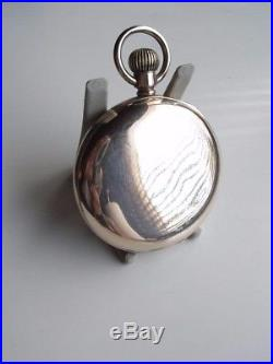 ANTIQUE FULL HUNTER GOLD FILL WALTHAM POCKET WATCH 15 JEWELS 1900 dennison case