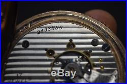 ANTIQUE ILLINOIS 17j FULL PLATE 10k GOLD FILLED HUNTER CASE 18s POCKET WATCH