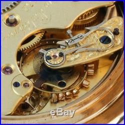 A. Lange & Söhne ¼ repeater Louis XV Case 18k Gold Original Box certifikate 1905