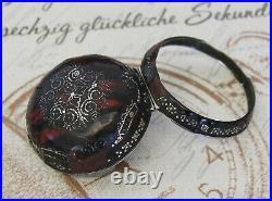 Antikes Spindel Taschenuhr Übergehäuse verge fusee pocket watch case C 1700
