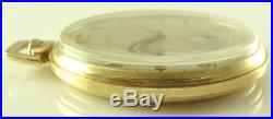 Antique 12 Size Hamilton Pocket Watch Grade 917 Excellent Gold-Filled Case