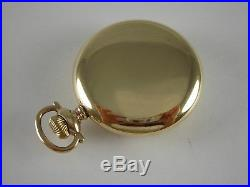 Antique 16 size Gold Filled Ball marked Rail Road pocket watch case