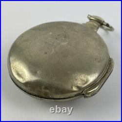 Antique 18th Century Verge Pair Case Pocket Watch T Whitt London A/F Not Working