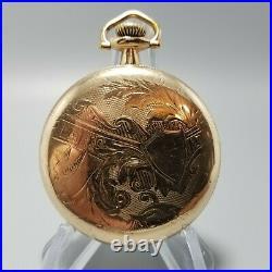 Antique 1919 Illinois 16s 15j Grade 303 Pocket Watch OF Victorian B&B GF Case