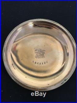 Antique Ball Official Railroad 21 Jewl Pocket Watch Windsor GF Case Needs Repair