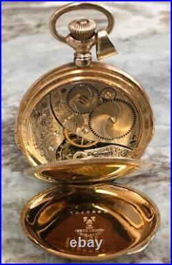 Antique Elgin 14k Gold Filled 25 Year Case Model 4 15j Grade 96 Pocket Watch