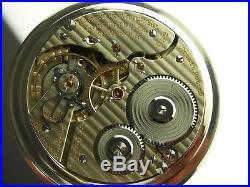Antique Hamilton 992 16s Rail Road pocket watch. 1930. Beautiful Unique case