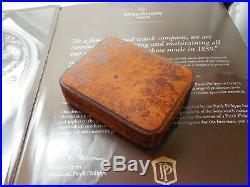 Antique Patek Philippe Pocket Watch Box Case