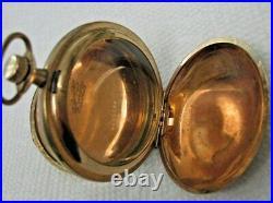 Antique Pocket Watch Hunting Case Gold Filled