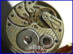 Antique Rare 16s Rockford 545, 21 jewels high grade pocket watch! Nice case 1908