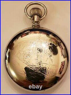 BALL 999 Hamilton 18S. Commercial Standard 17J. Adj. Locomotive case (1902) nice
