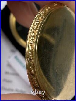 BEAUTIFUL HAMILTON CASE MODEL 11 16S KEYSTONE 10K Gold filled 950B 992B