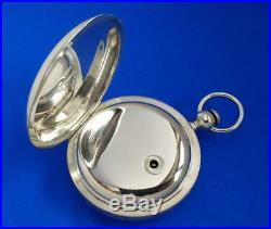 BEAUTIFUL WALTHAM 15J APPLETON TRACY SILVER HUNTER 1868 Heavy 4oz Silver Case