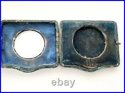 Birmingham 1917 silver goliath pocket watch case holder