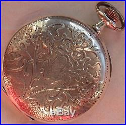 Brevet 56177 Dual Zone Time Pocket Watch Silver Carved Hunter Case