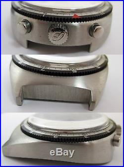 Bullhead Breitling s. Steel case 7101 & dial. For parts or project