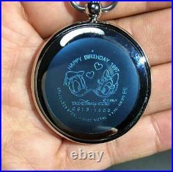 Disney Pocket Watch Donald Duck Case size 40 mm