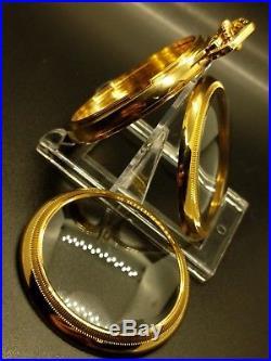 Display Salesman 18s GP Pocket Watch CASE for Railroad, Lever Set, or Stem Set