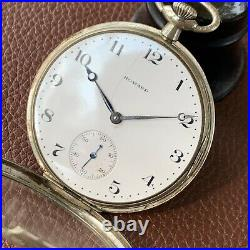 E. Howard Watch Co. Series 7 12S 17J Flip Out Case Openface Pocket Watch with Box