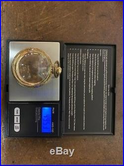 Early 1800s Fusee Solid 18k Gold Case And Tri Color Gold Dial RARE