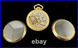 Elgin 18s 23 J Veritas M# 214 Railroad Custom Display Case Fine+ Condition