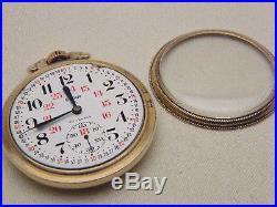 Elgin 847 10 K Rolled Gold Star Case 4242129 23 Jewels 5 Adj 4446 Chased Train